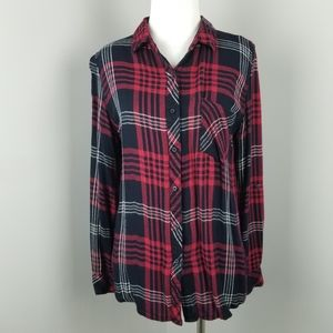 Thread & Supply   Flannel Loong Sleeve Button Down